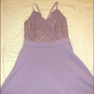 Francesca's Collections Dresses - Lilac Francesca's Dress